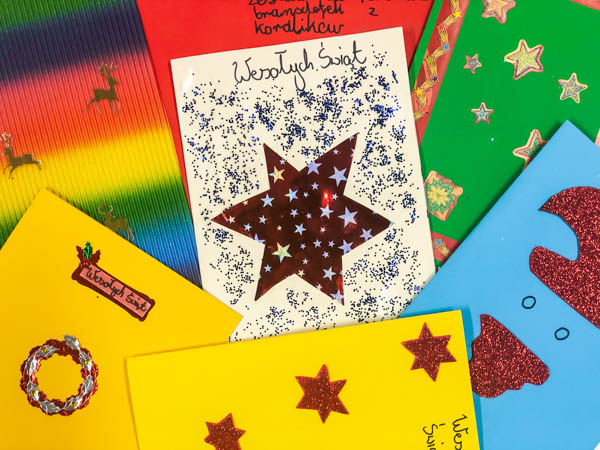 cards from children