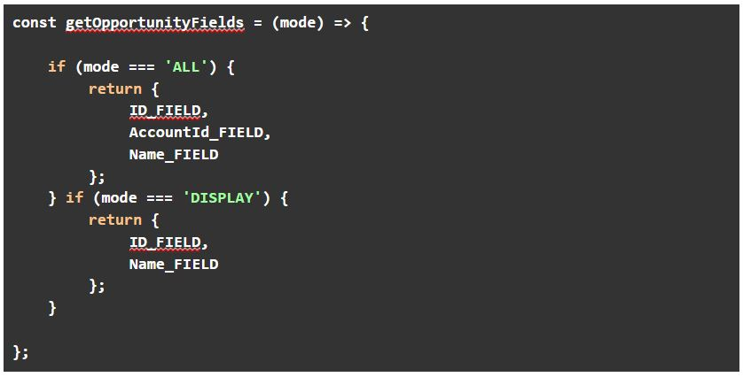 Adding a parameter to the getFields method