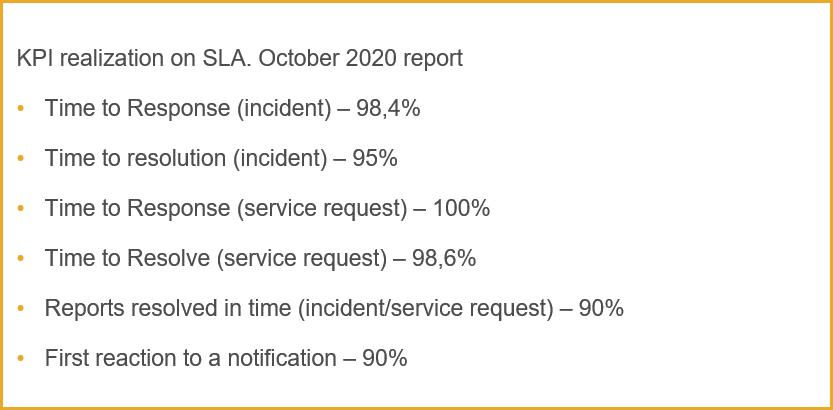KPI Managed Service
